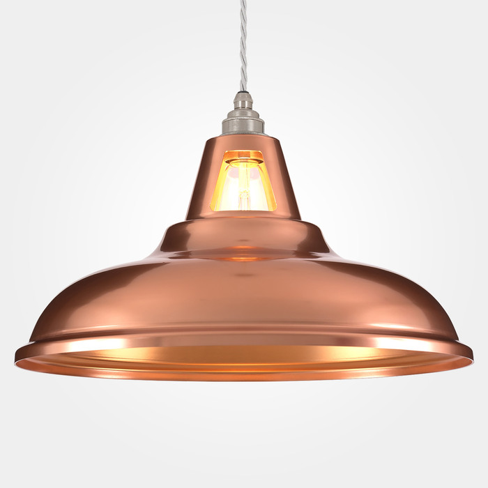 Coolicon Copper Pendant Light - Supersized