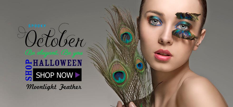Halloween Feathers