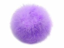 2 Yards - Lavender Turkey Medium Weight Marabou Feather Boa 25 Gram
