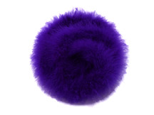 2 Yards - Eggplant Turkey Medium Weight Marabou Feather Boa 25 Gram