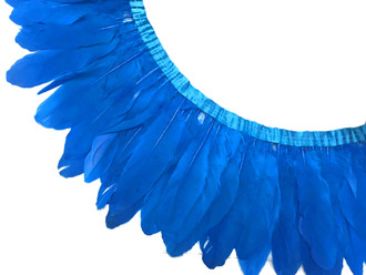 Blue Goose Nagoire And Satinettes Feather Trim
