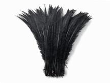 Black Ostrich Nandu Trimmed Long Wholesale Feathers