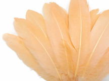 Peach Goose Satinettes Wholesale Loose Feathers (Bulk)