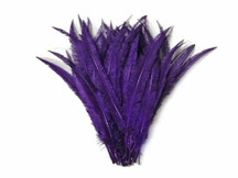 Purple Ostrich Nandu Trimmed Long Wholesale Feathers (Bulk)