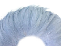 Baby blue soft wispy small rooster feathers for crafts