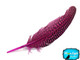 Buy Wholesale Hot Pink Guinea Primary Wing Feathers Image 3