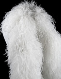 White Ostrich Feather Boa 12 Ply