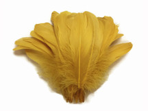 Antique Gold Goose Nagoire Wholesale Feathers (Bulk)