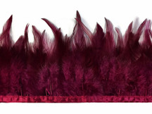 1 Yard - Magenta Rooster Neck Saddle Hackle Feather Wholesale Trim