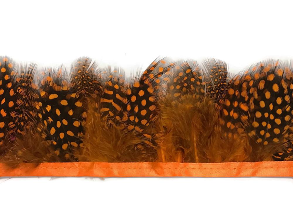1 Yard BABY BLUE Guinea Hen Plumage Feather Trim