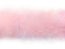 2 Yards - Baby Pink Marabou Feather Boa 25G