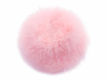 2 Yards - Baby Pink Turkey Medium Weight Marabou Feather Boa 25 Gram