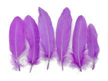 1 Pack - Lavender Goose Satinettes Feathers 0.3 Oz.