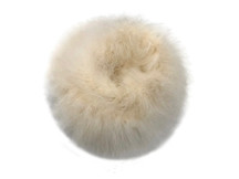 2 Yards - Ivory Turkey Medium Weight Marabou Feather Boa 25 Gram