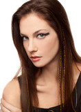 California Style Feather Extension Clips For Hair