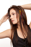 Sahara Style Feather Extension Clips For Hair