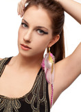 Angelina - Collection Single Feather Earring