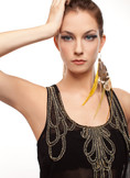 Dawn - Collection Single Feather Earring