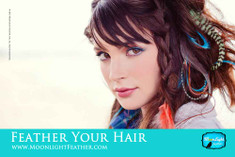 Feather Your Hair Salon Poster 2