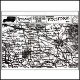 Etchings Rubbings : Map