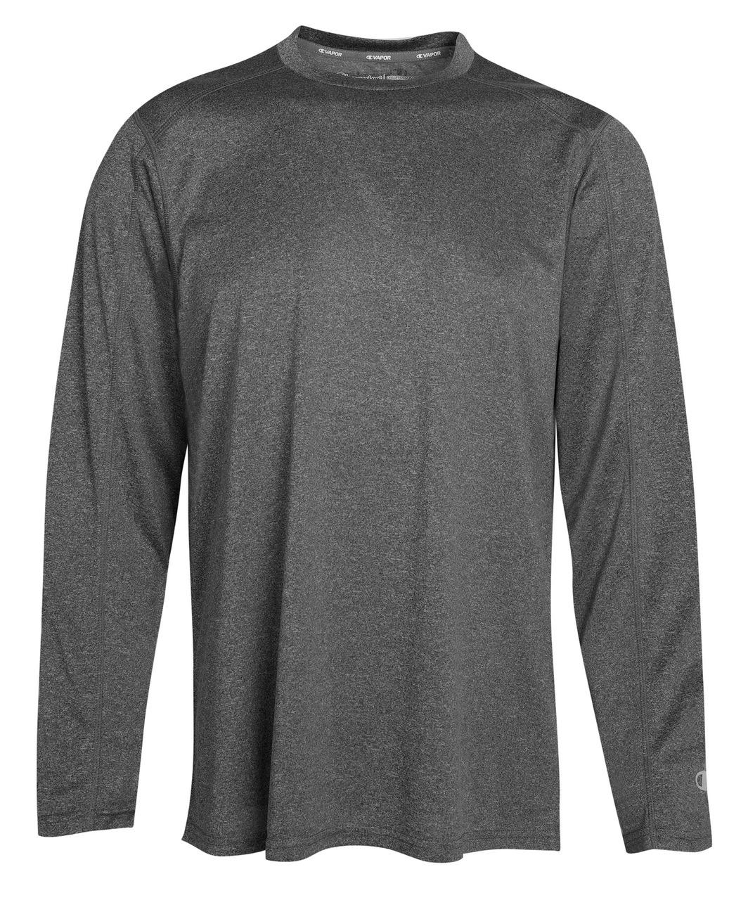 Champion CV26 Vapor Heathered Performance Long Sleeve | Athleticwear.ca