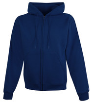 Navy Front Champion S800 Powerblend Eco Fleece Full Zip Hoodie | Athleticwear.ca