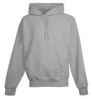 Oxford Gray Front Champion S101 Reverse Weave Fleece Hoodie   Athleticwear.ca