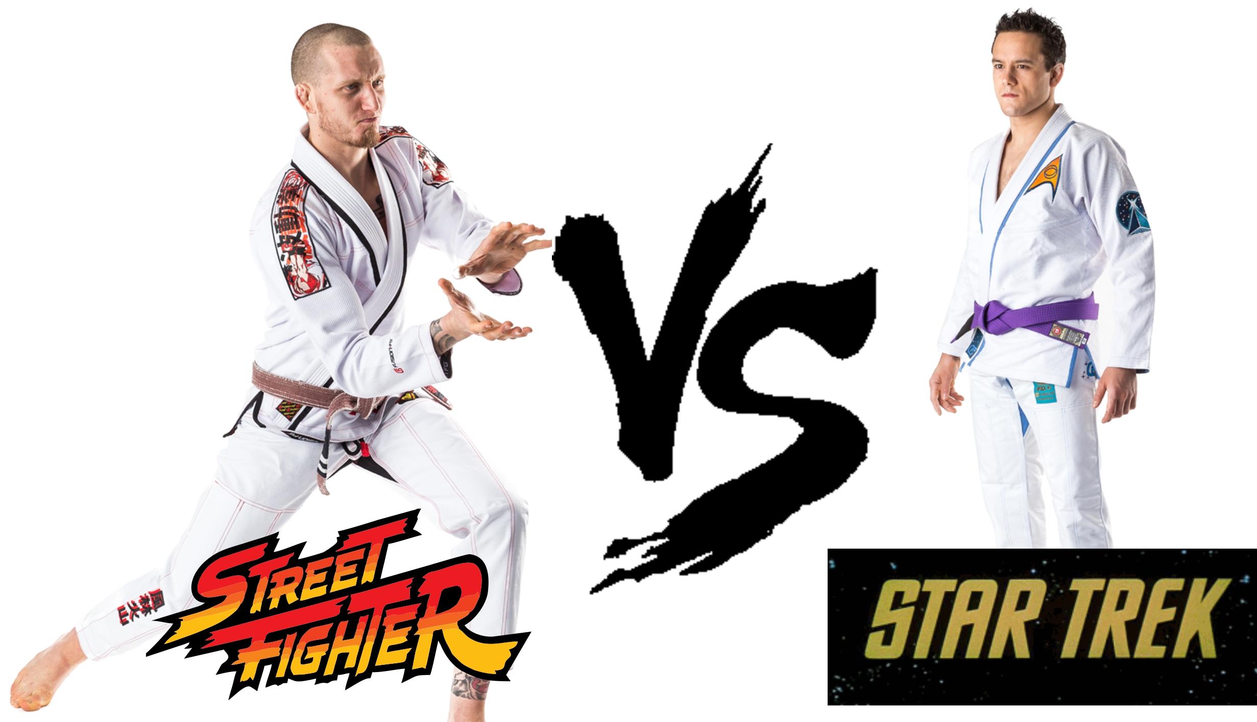 star trek gi vs street fighter gi what kind of nerd are