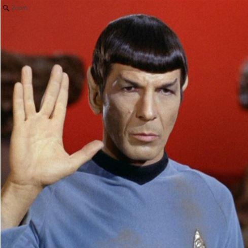 Fusion FG Star Trek Blue Sciences Rashguard.  Available at www.thejiujitsushop.com Mr Spock would be proud!  Enjoy all of the famous Star Trek Rashguards from The Jiu Jitsu Shop with FREE Shipping today!