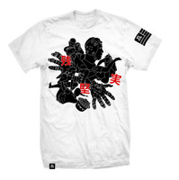 Newaza Apparel Roll White T-Shirt.  All the jiu-jitsu goodness in 1 page.  Available at www.thejiujitsushop.com  Enjoy Free shipping today!