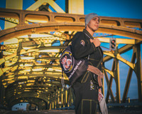 The Jiu Jitsu Shop's very own Alpha Gi.  This Black and yellow masterpiece is one of a kind.  Very durable, light and comfortable only available at www.thejiujitsushop.com   Enjoy Free Shipping from The Jiu JItsu Shop.  BOOOOM!