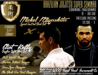 Eliot Kelly Seminar At Ralph Gracie Febuary.  Learn from the top pressure passers in the game today!