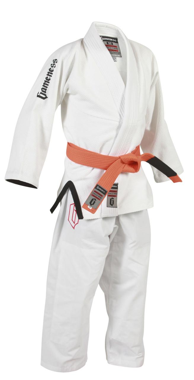 gameness youth air bjj gi white the jiu jitsu shop