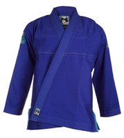 Inverted Gear Blue Light PEarl Weave Skies gi.  Available with free shipping from The Jiu Jitsu Shop.