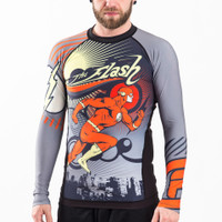 Fusion FG The Flash Running Man rashguard available at www.thejiujitsushop.com   Enjoy Free Shipping from The Jiu Jitsu Shop today!