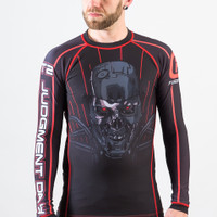 Fusion FG Terminator 2 Skynet BJJ Rashguard available at www.thejiujitsushop.com  Enjoy Free Shipping from The Jiu Jitsu Shop today.