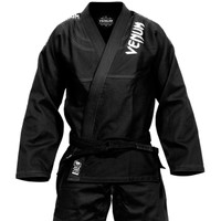Venum challenger 3.0 BJJ Gi Black/Grey Available at www.thejiujitsushop.com  Enjoy Free Shipping from The Jiu Jitsu Shop today!