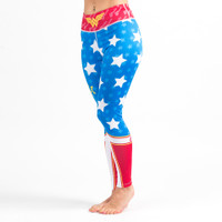Fusion FG Wonder Woman Spats (Leggings) Available at www.thejiujitsushop.com  Enjoy Free Shipping on all products at The Jiu Jitsu Shop.
