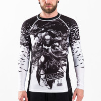 Fusion FG Batman Confidential Noir Rashguard available at www.thejiujitsushop.com  Enjoy Free Shipping from The Jiu Jitsu Shop today!