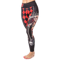 Fusion FG Harley Quinn DC Bombshells Leggings (Spats) available now at www.thejiujitsushop.com  Enjoy Free Shipping from The Jiu Jitsu Shop today!