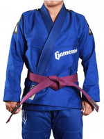 Gameness Pearl Gi Blue now available at www.thejiujitsushop.com  Enjoy Free shipping from The Jiu Jitsu Shop