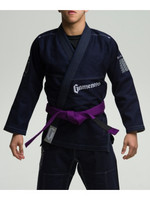 Navy Gameness 2017 Feather Gi.  Available in fitted sizes as well.  Now available at www.thejiujitsushop.com  Enjoy Free Shipping from The Jiu Jitsu Shop