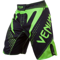 Venum Hurricane Fight Shorts now available at www.thejiujitsushop.com Bring black and green shorts to take on the world.   Enjoy Free Shipping from The Jiu Jitsu Shop today!