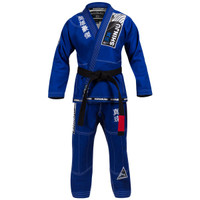 Hayabusa Shinju 3 Pearl Weave Blue Jiu Jitsu Gi now available at www.thejiujitsushop.com  Enjoy Free Shipping on this comfortable durable new gi from The Jiu Jitu Shop