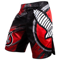 Hayabusa Chikara 3.0 Fight Shorts in Red/Black available at www.thejiujitsushop.com  Enjoy Free Shipping from The Jiu Jitsu Shop today!