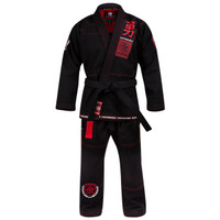Hayabusa Goorudo 3.0 Gold Weave Jiu Jitsu Gi (Black) available at www.thejiujitsushop.com  Enjoy Free Shipping from The Jiu Jitsu Shop