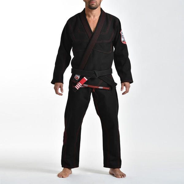 Grips athletics Cali 99 Gi black gi.  Available at www.thejiujitsushop.com  Enjoy free shipping from The Jiu Jitsu Shop today!