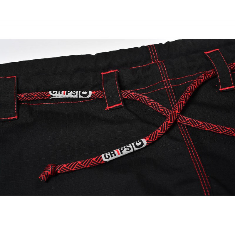 Rope of the Grips athletics Cali 99 Gi black gi.  Available at www.thejiujitsushop.com  Enjoy free shipping from The Jiu Jitsu Shop today!