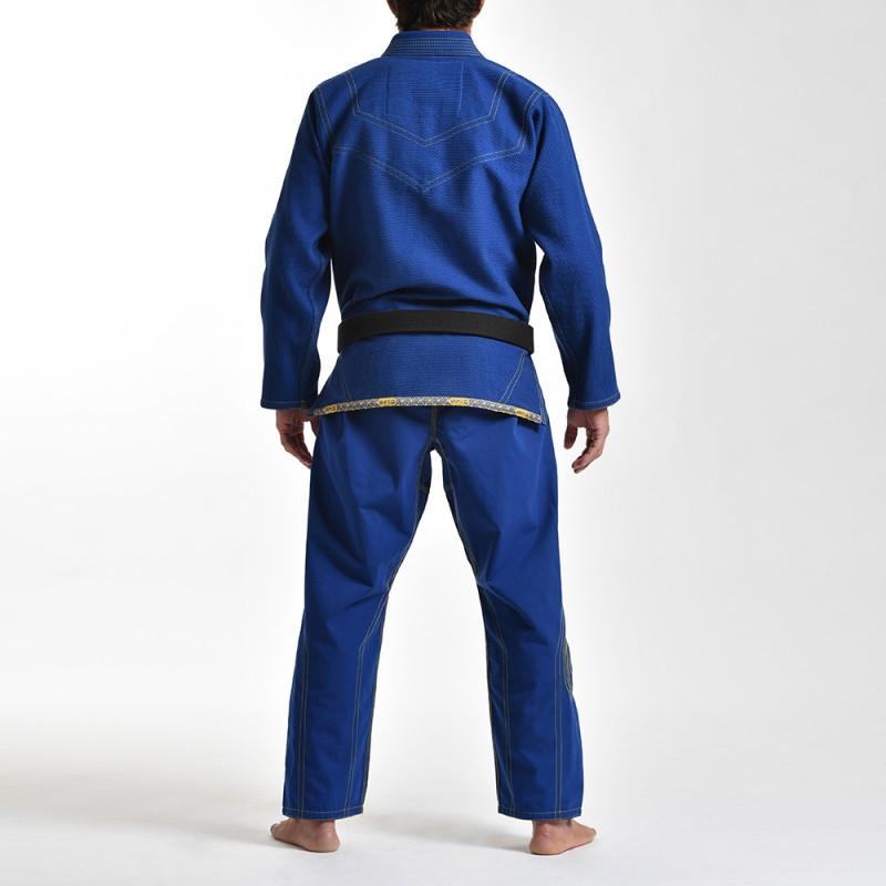 Back of the Grips athletics Cali 99 Gi Blue gi.  Available at www.thejiujitsushop.com  Enjoy free shipping from The Jiu Jitsu Shop today!