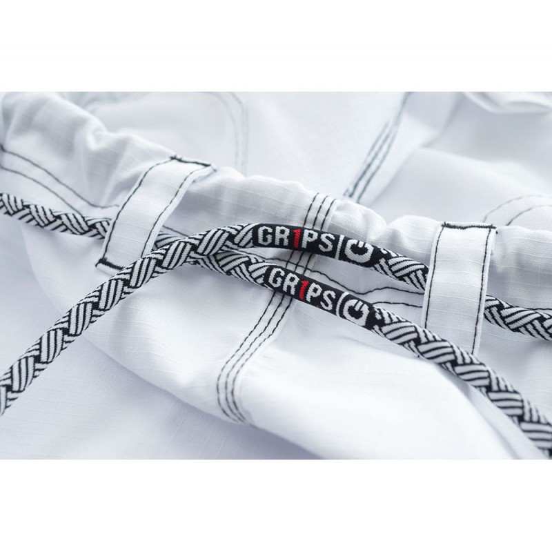 Pants gi ropes Grips athletics Cali 99 Gi White gi.  Available at www.thejiujitsushop.com  Enjoy free shipping from The Jiu Jitsu Shop today!